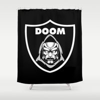 doom Shower Curtains featuring Doom by Buby87