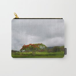 Royal Poinciana Tree Carry-All Pouch