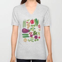 Vegetables Unisex V-Neck