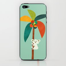 Koala on Coconut Tree iPhone & iPod Skin