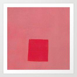 Pink Influence 2 Art Print