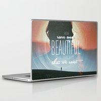 saturn Laptop & iPad Skins featuring Saturn by yunitahadinata