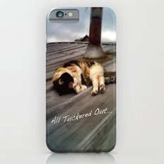 All Tuckered Out iPhone 6s Slim Case