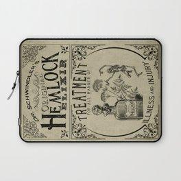 Dr. Schwindler's Original Hemlock Elixir Laptop Sleeve
