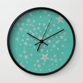 Star Dust Wall Clock