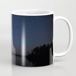 Milky Way over the Lake Coffee Mug