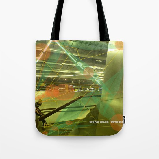 Photographer of steel stairs Tote Bag