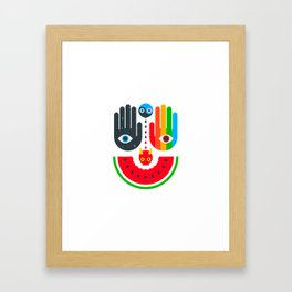 Idle Hands Framed Art Print