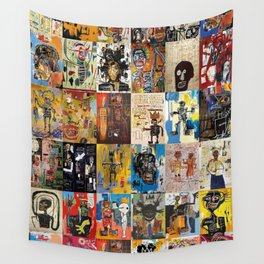 Basquiat Montage Wall Tapestry