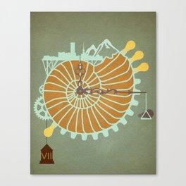 Shellpunk Canvas Print