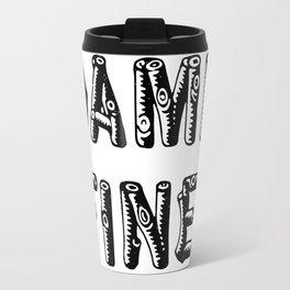 Damn Fine! (Log Lady Edition) Travel Mug