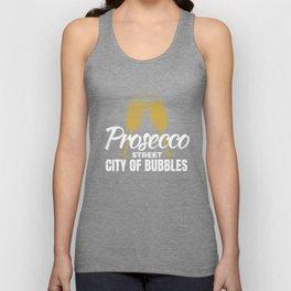 Prosecco Street  Unisex Tank Top