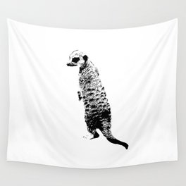 The meerkat Wall Tapestry