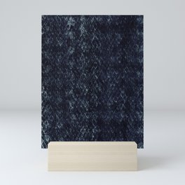 Black Snakeskin Mini Art Print
