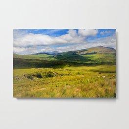 Welsh Views Metal Print