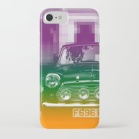 mini cooper iPhone & iPod Cases featuring Mini by Matt Wade