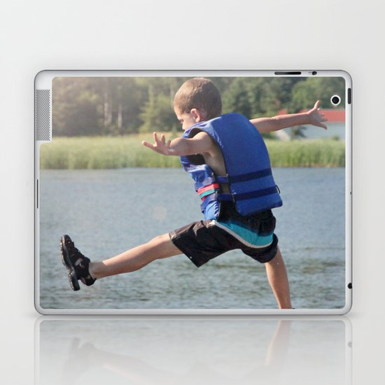 Harry Leaps! Laptop & iPad Skin