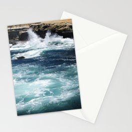 Ocean and Rocks Stationery Cards