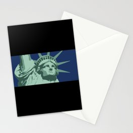 Statue of Liberty Icon Stationery Cards