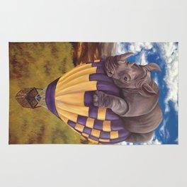 When Rhinos Fly Rug