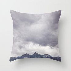Born to hike Throw Pillow