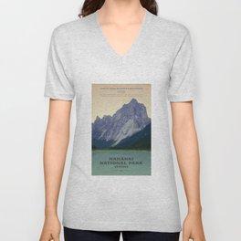 Nahanni National Park Poster Unisex V-Neck