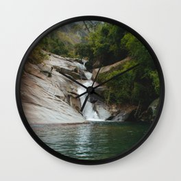 Swimming Hole Wall Clock