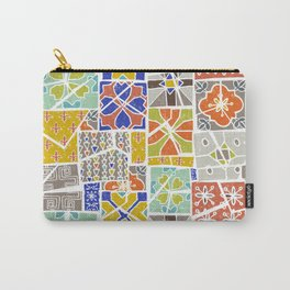 Barcelona tiles Carry-All Pouch