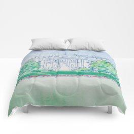 White House Print Comforters