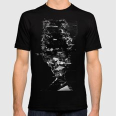 when i try to remember  X-LARGE Mens Fitted Tee Black