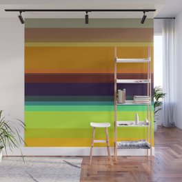 Color stripes I Wall Mural