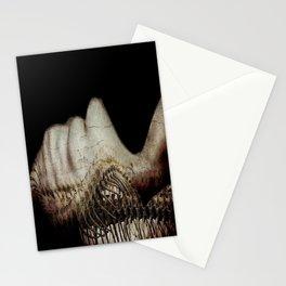 Flesh and Bone Suspended ~ Horizontal Image Stationery Cards