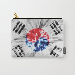 Extruded flag of South Korea Carry-All Pouch