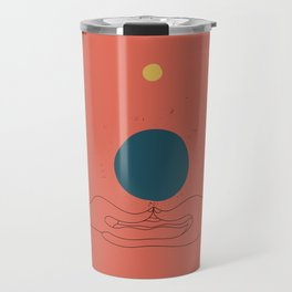 Dhyana mudra Travel Mug
