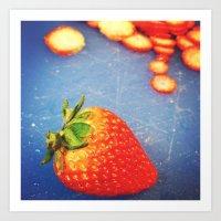 fruit Art Prints featuring Fruit by Daniel Clifford