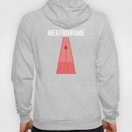Meatronome Meat Bacon Pork Pig Chicken Barbecue Design Hoody