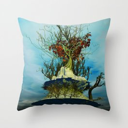 On the Top of the Top Throw Pillow