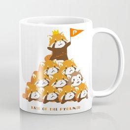RED PANDA: PYRAMID Coffee Mug