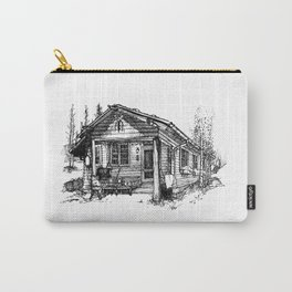 Colorado Rustic Cabin Series - 4 of 4 Carry-All Pouch