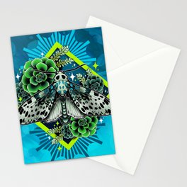 Leopard Moth Stationery Cards