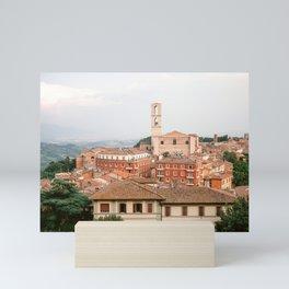 View of Perugia | Umbria Italy | Fine art travel art Europe Mini Art Print