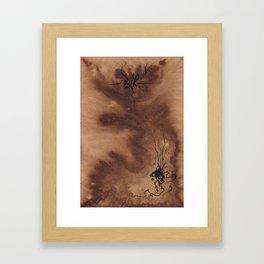 Emanation Desiccate Framed Art Print