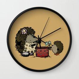 Thanks for feeding me Mom Wall Clock