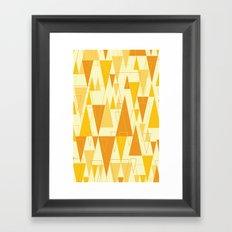 Love Triangle 1 Framed Art Print