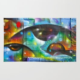 Psychedelic Eyes  Rug