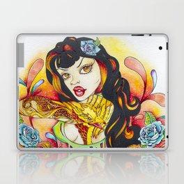Rockabilly Art - Comic Art - Pop Surreal - Flight of the Phoenix - Fantasy Art  Laptop & iPad Skin