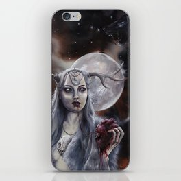The mystic witch iPhone Skin