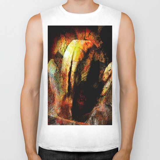 Abstract body 2 Biker Tank