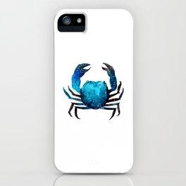 Cerulean blue Crustacean iPhone Case