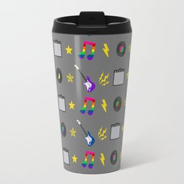 Punk Rock Rainbows Travel Mug